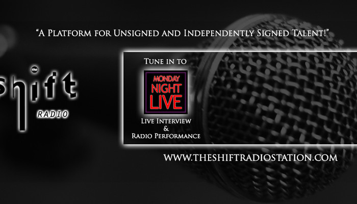 The Shift Radio - Monday Night Live - Facebook Banner
